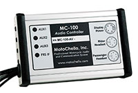 photo of MotoChello MC-100 audio unit