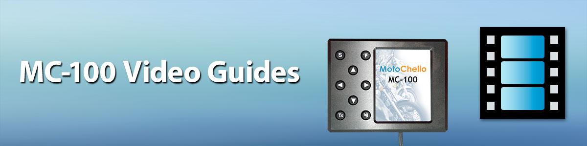 Page head graphic for te MotoChello MC-100 video guides