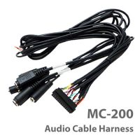 Photo of the MC-200 audio cable harness