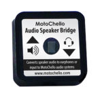 Product photo of the motorcycle audio speaker bridge from MotoChello