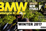 Cover photo of the BMW Magazine Winter 2017 issue