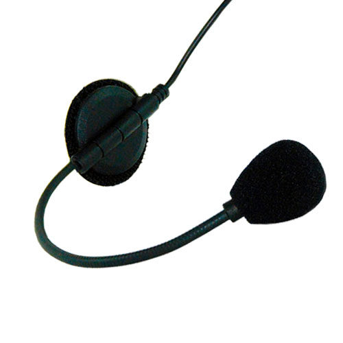 photo of the MotoChello boom helmet headset microphone