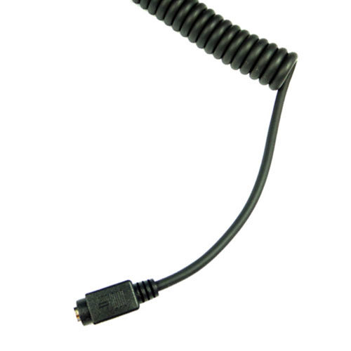 phto of the MotoChello coiled headset cable