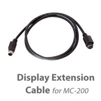 photo of a MotoChello MC-200 motorcycle audio system display cable