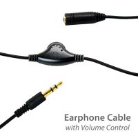 photo of the MotoChello earphone cable with volume control