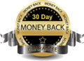 30-day money back guarantee circle