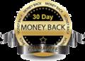 30-day money back guarantee circle