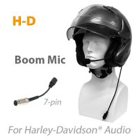 Product photo for MotoChello headset for Harley-Davidson with boom mic