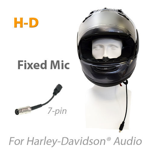 Product photo for MotoChello headset for Harley-Davidson with button mic