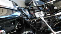 Harley Davidson Road King Classic with MC-100 audio