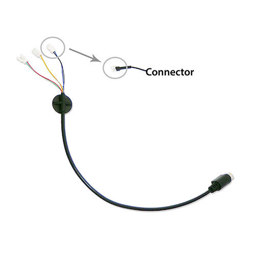 MotoChello Interior Helmet Cable harness to connect speakers and microphones photo