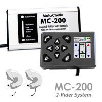 photo of the MC-200 audio system for 1 or 2 riders