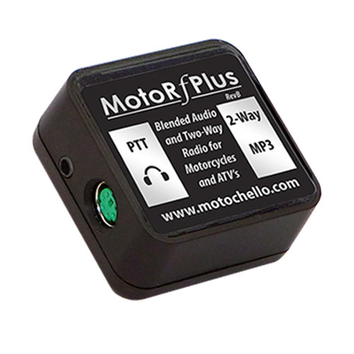 photo of the MotoRfPlus showing the side connections