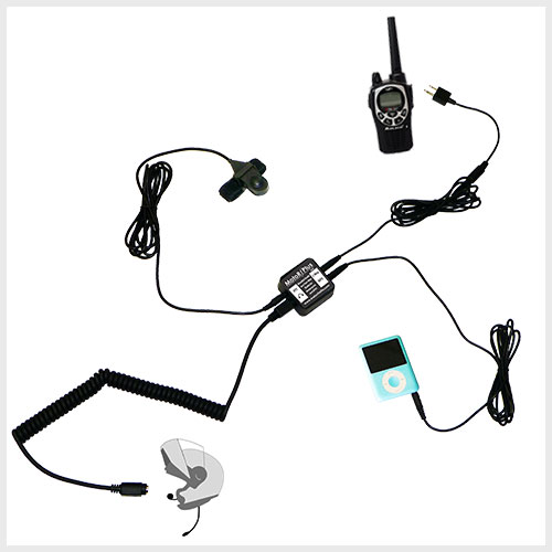 motorcycle audio with two way radio interface. Black Bedroom Furniture Sets. Home Design Ideas