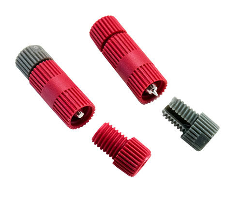 Close up of the Posi-Tap® connectors