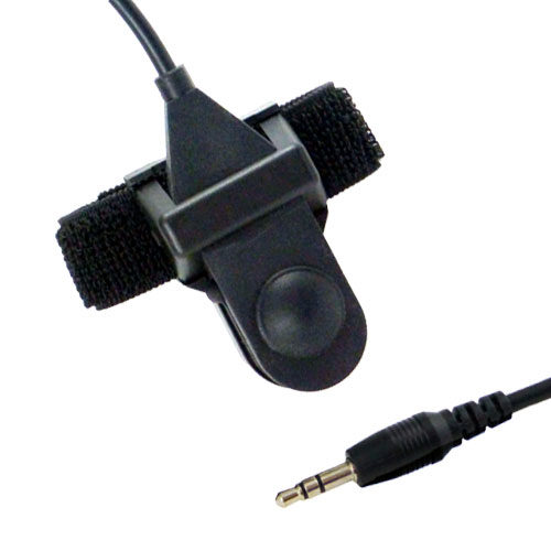 Product photo of a two-way radio PTT talk button for MotoChello motorcycle audio systems