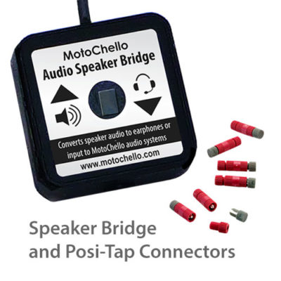 Product photo of Audio Speaker Bridge and set of Posi-tap connectors