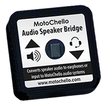photo of the MotoChello Speaker Bridge