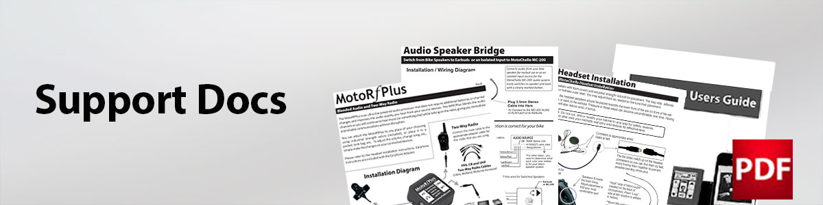 Photo for the MotoChello audio system support docs page
