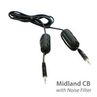 photo of Midland two-way radio cable with built in noise filter